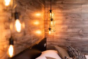 komfortní designové pokoje