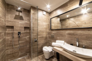Sociální zařízení se sprchou