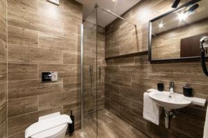 Sociální ubytování se sprchou